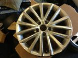 "2011 VW JETTA TDI GENUINE OEM 17""  MULTI SPOKE ALLOY WHEEL SILVER 5CO601025A"